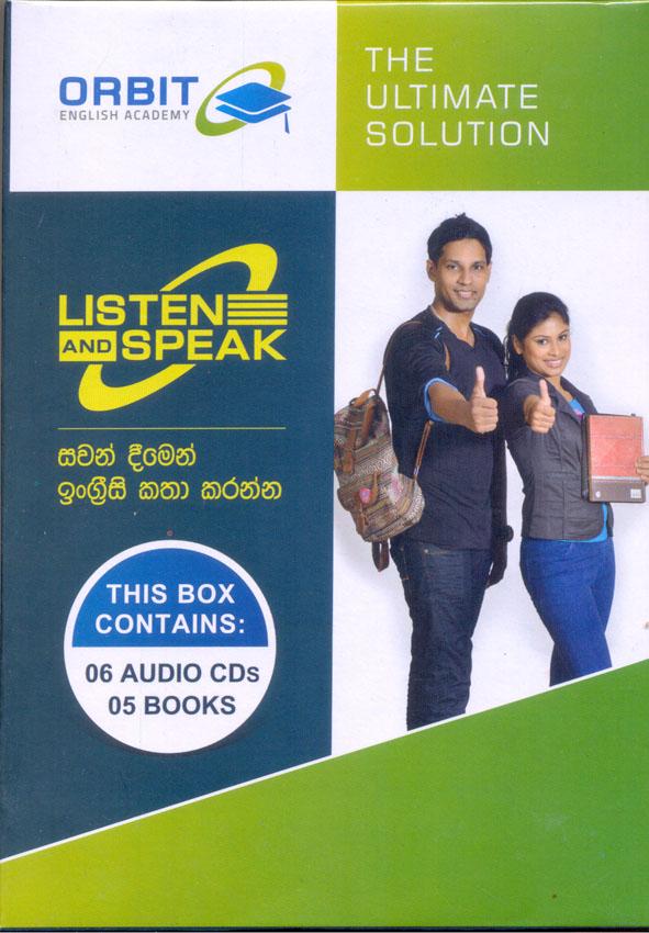 Orbit Listen And Speak Box Set : 06 Audio Cds & 5 Books
