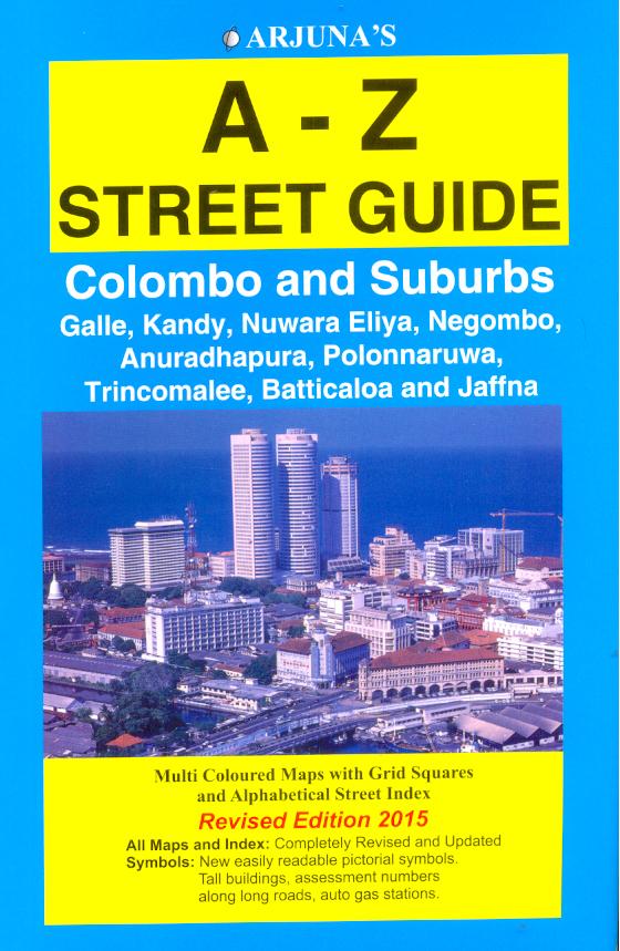 Arjuna's A-Z Street Guide