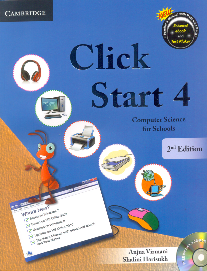 Click Start Level 4 with CD-ROM: Computer Science for Schools - 2nd Ed